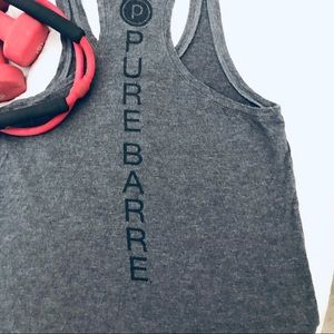 Pure Barre Racerback Tank size S / XS